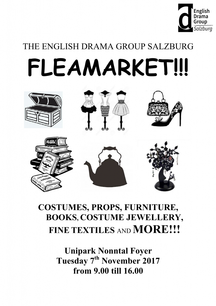 Fleamarket sign 2017