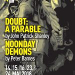 Poster for Noonday Demons and Doubt: A Parable