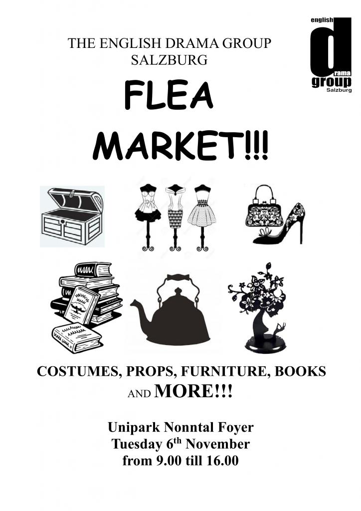 Poster for 2018 fleamarket